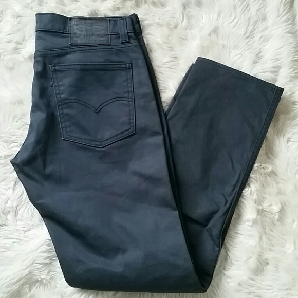 1ae556e2f86f Levi s Other - LEVIS 511 Slim Straight Mens Coated Jeans Sz ...